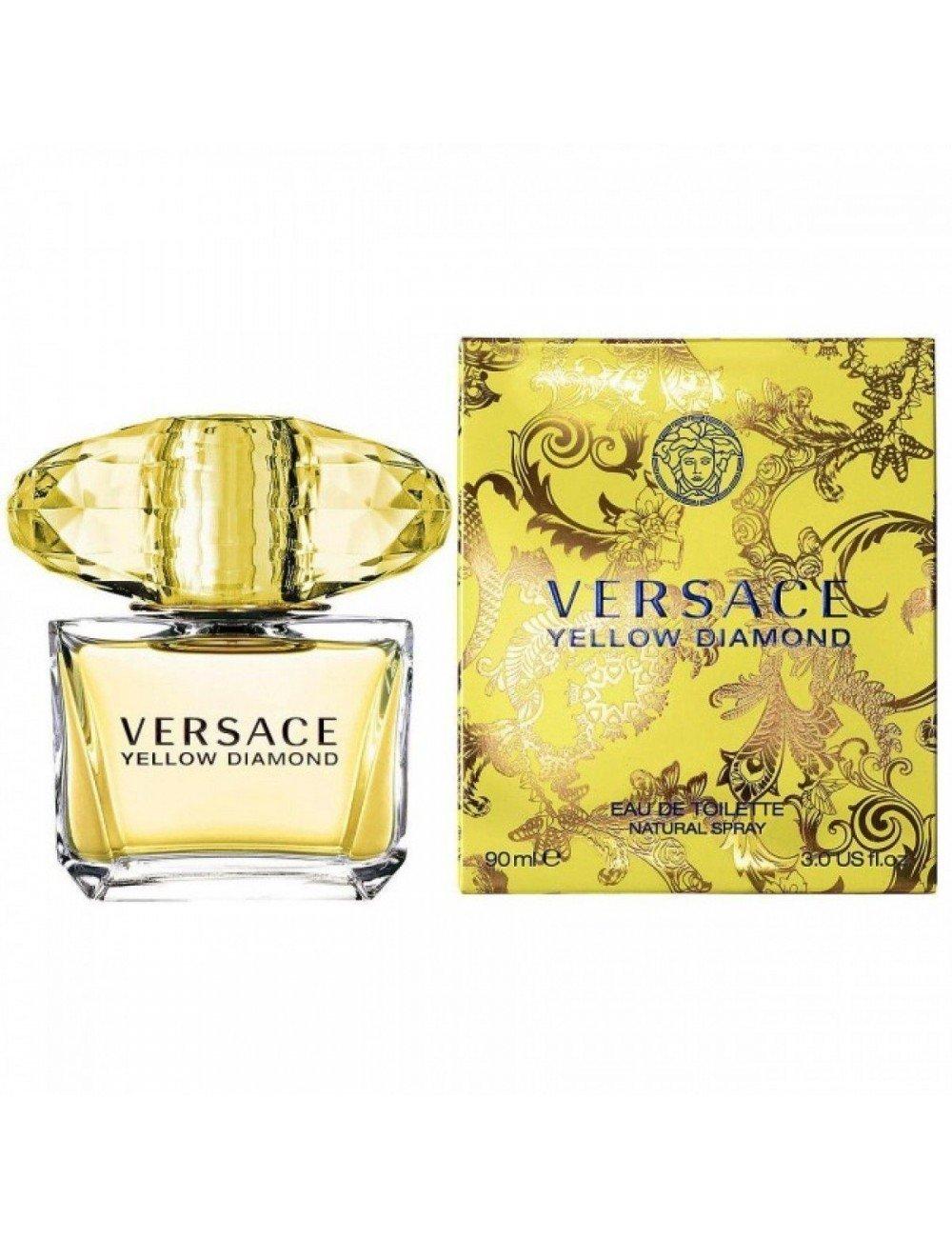 Ml Toilette Versace Eau De Yellow Diamond 90 cT3uK1lFJ5