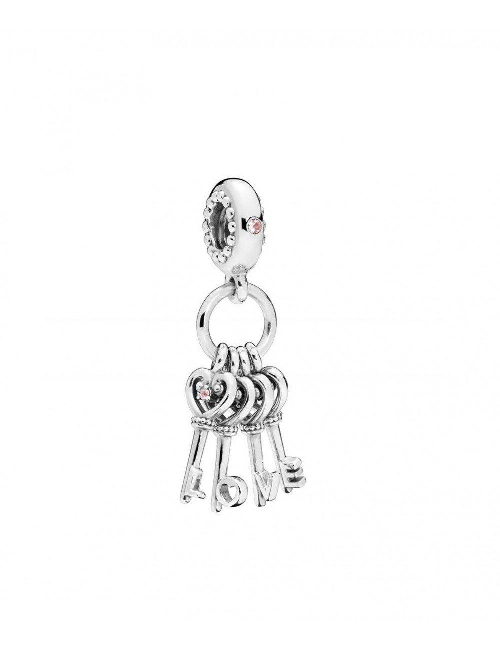 ec85a7b4593b Comprar Pandora Silver Charm Circonita Llaves