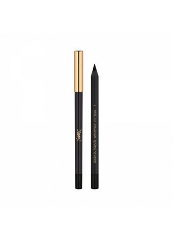 YVES SAINT LAURENT DESSIN DU REGARD WATERPROOF Nº01 TONO NOIR EFF