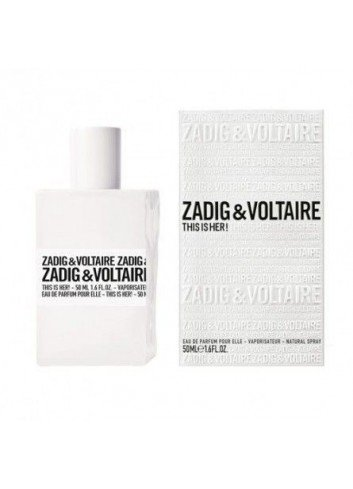ZAGIG & VOLTAIRE THIS IS HER EDP 50ML