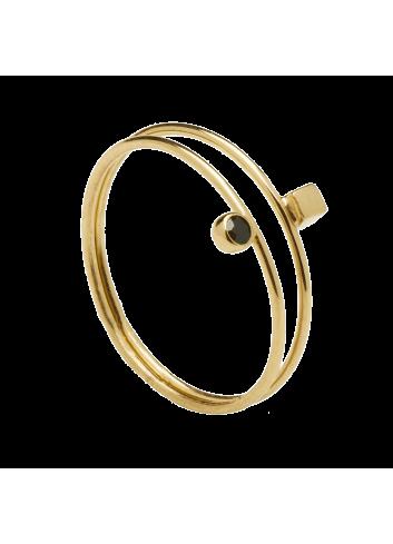PDPAOLA ANILLO BOB GOLD T-16
