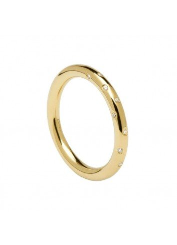PDPAOLA ANILLO SATELLITE GOLD T-12