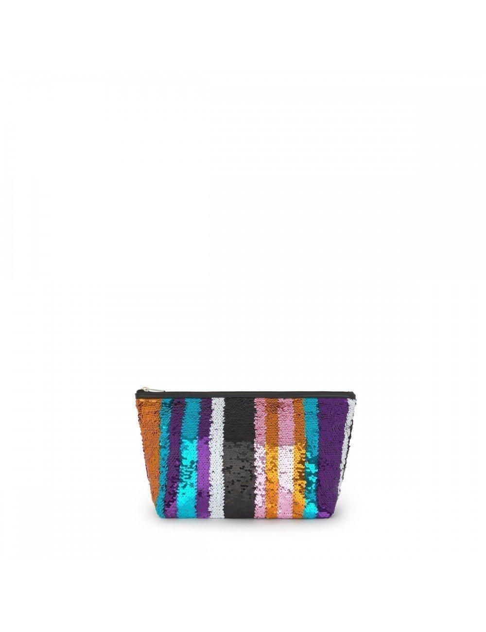 Tous Bolsa Pequeña Kaos Shock Sequins Strips Multicolor