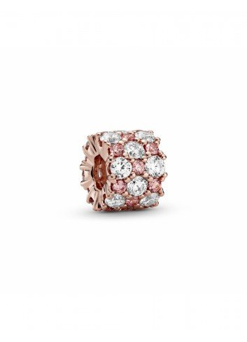 PANDORA ROSE CHARM BRILLO ROSA